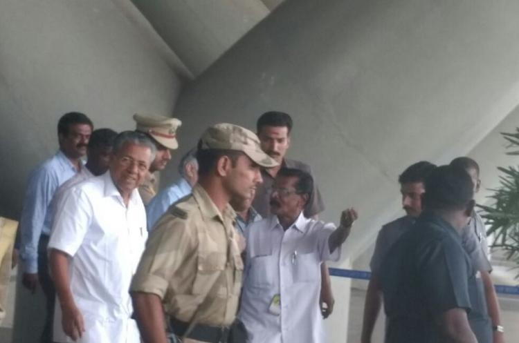 Kerala CM Pinarayi is the latest to visit Apollo Hospital enquires about Jayalalithaas health