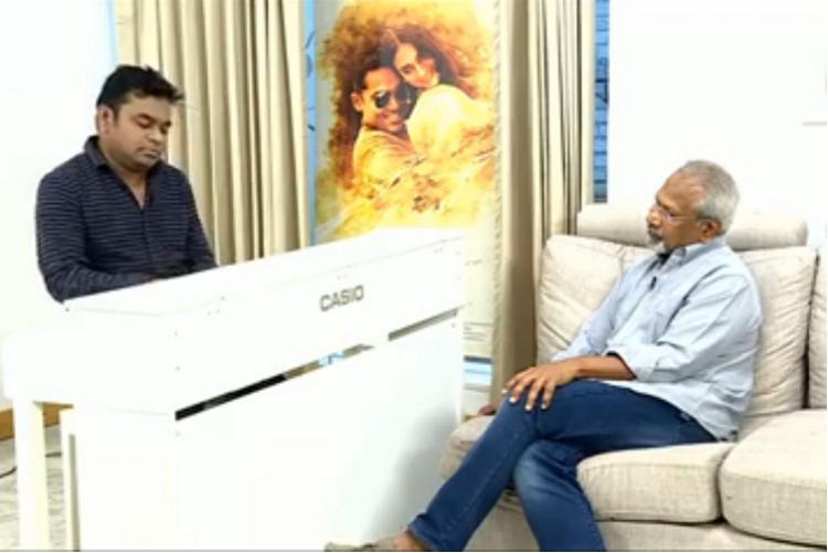 In an FB live Mani Ratnam and AR Rahman recall their friendship of 25 years