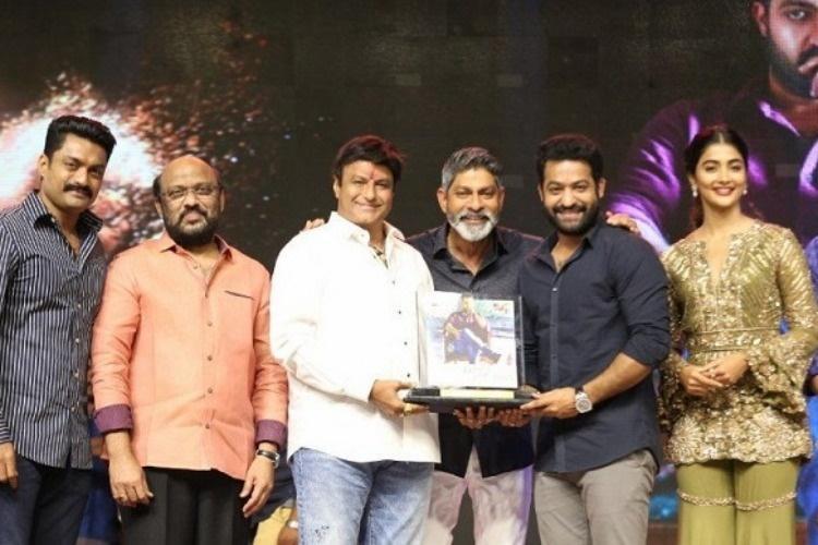 Balakrishna lauds Aravinda Sametha team for the movies success