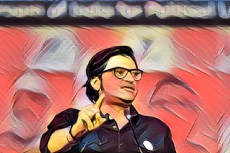 Republic test broadcast begins We are your voice says Arnabs new channel