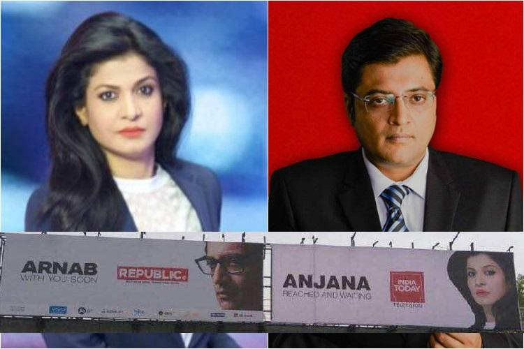 Primetime war ramps up India Todays answer to Arnab Goswami is Anjana Om Kashyap