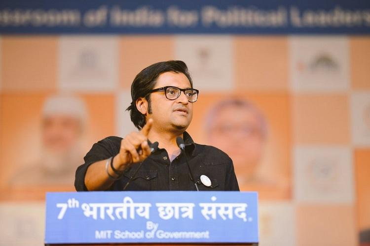 Arnab Goswami fires salvo at Times Group says he was barred from studio days before he left