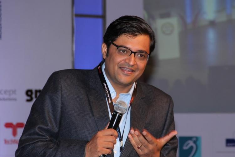 What will be the financial impact of Arnabs departure on Times TV network