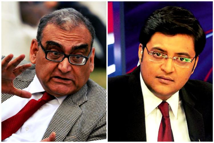 All was not well when Markandey Katju duelled with Arnab Goswami