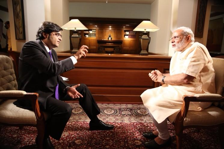 Arnabs blog slamming critics Exclusive interviews given to channels that command viewership