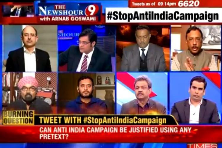 Arnab Goswami is a traitor to journalism writes JNU professor