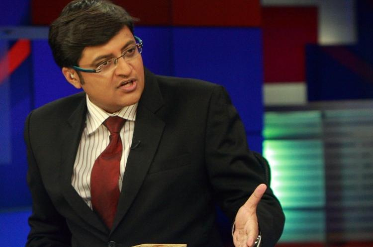 Arnab Goswami announces his new venture to be called the Republic