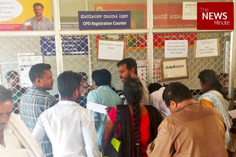 Long wait confusion over BPL cards on day one of Arogya Karnataka