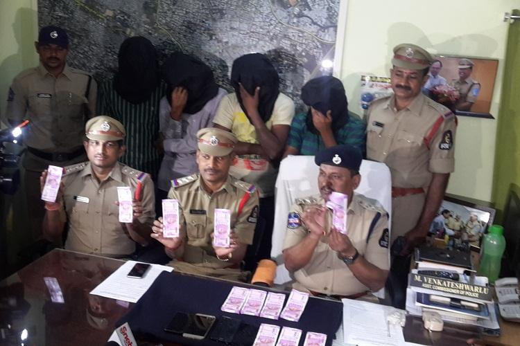 Four persons including home guard arrested for Rs 12 lakh fraud in Hyderabad
