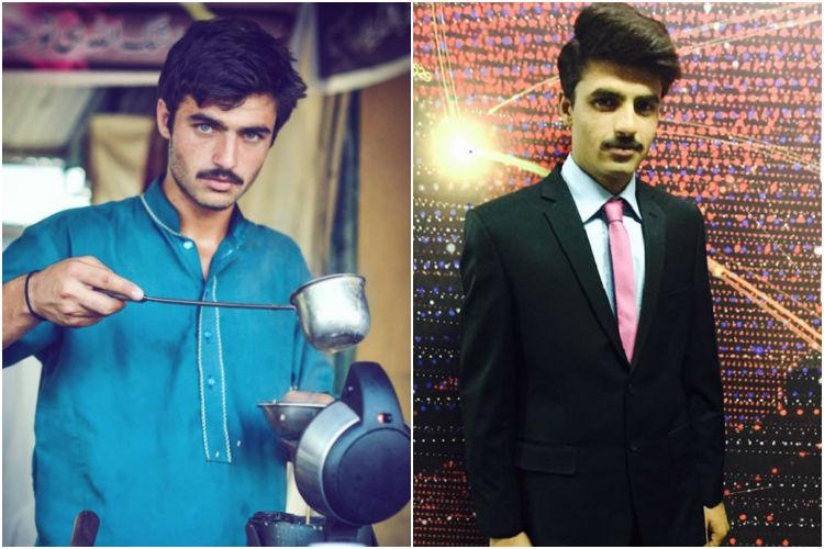 Internet sensation chai wala from Pakistan is now a fashion wala bags modelling contract