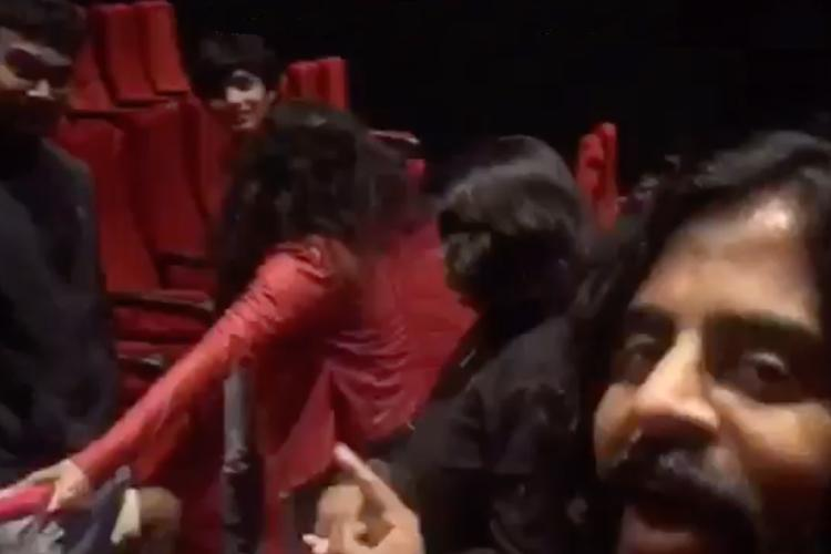 Bengaluru moviegoers hounded by actor others for sitting during national anthem