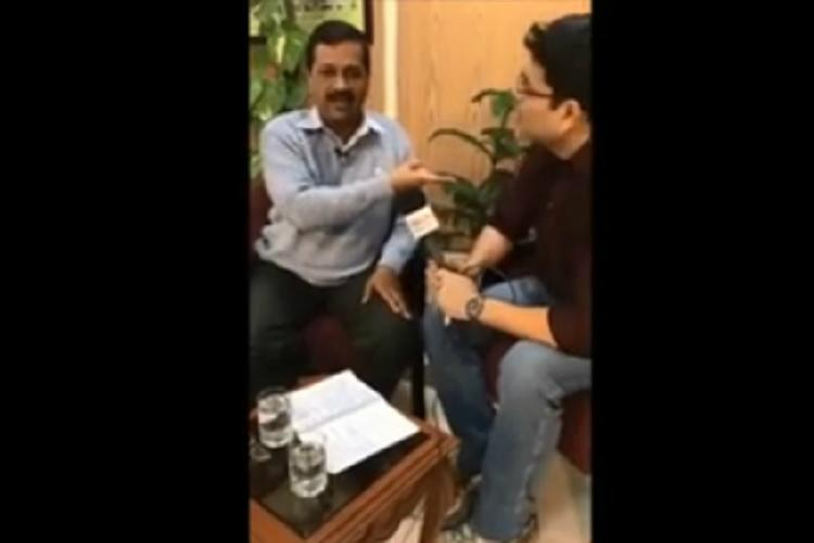 Kejriwal loses his cool when BBC reporter asks if demonetisation deaths can be proven