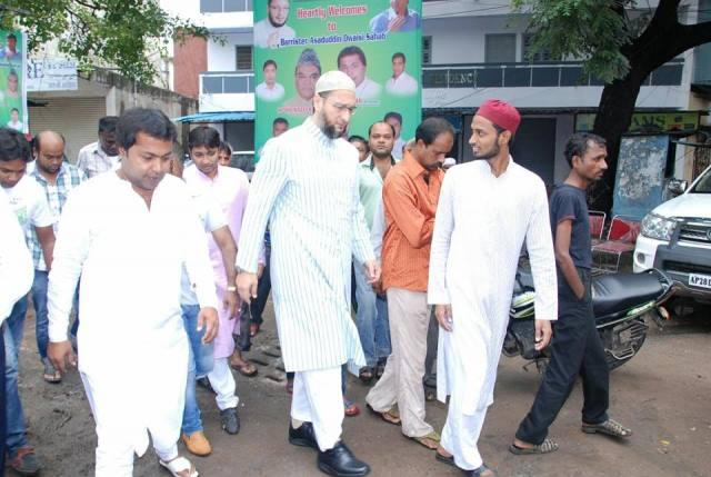 BJP launches campaign to get Owaisi arrested for offering legal aid to ISIS suspects