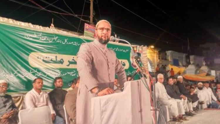 Beef could be banned if we are not elected Owaisi tells Hyderabad