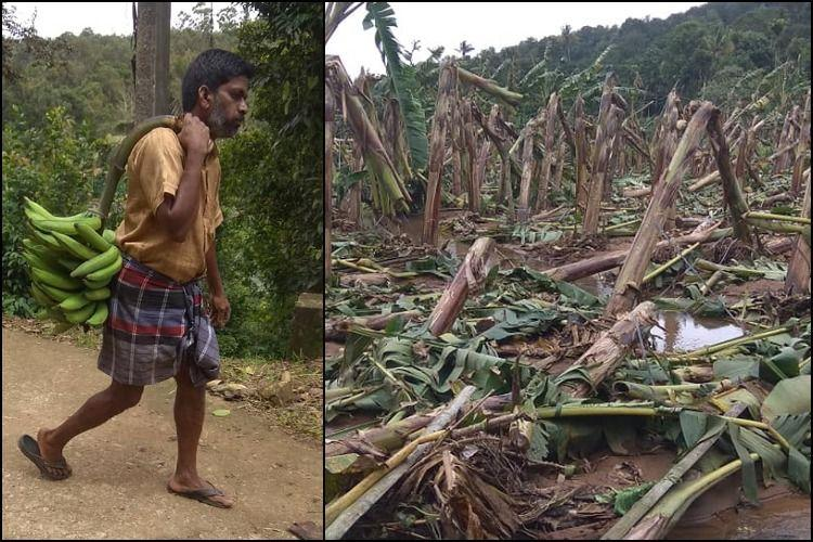 How a bunch of bananas offered by a Kerala farmer for flood relief turned into clothes