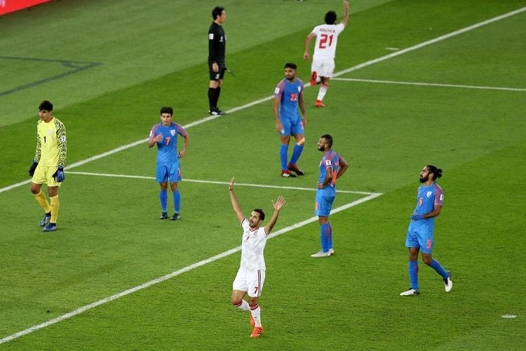 AFC Asian Cup Spirited India go down fighting to UAE