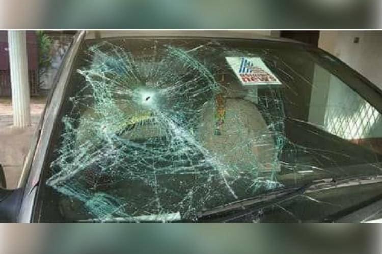 Kerala Asianet TV office attacked over reports of Thomas Chandys alleged land encroachment