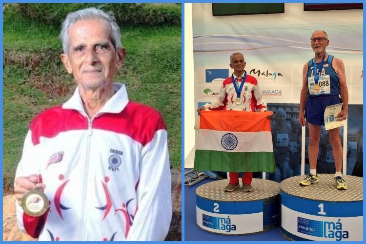 95-year-old Vizag naval veteran bags silver in World Masters Athletics Cships