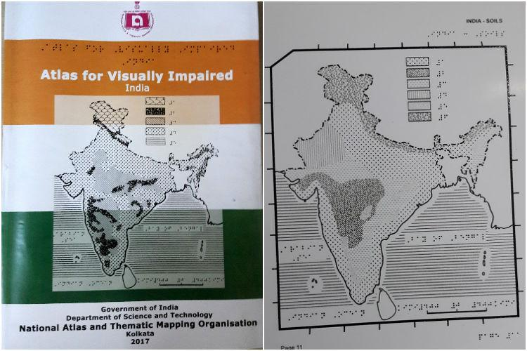 India unveils a braille atlas for the visually impaired first of its kind in the world