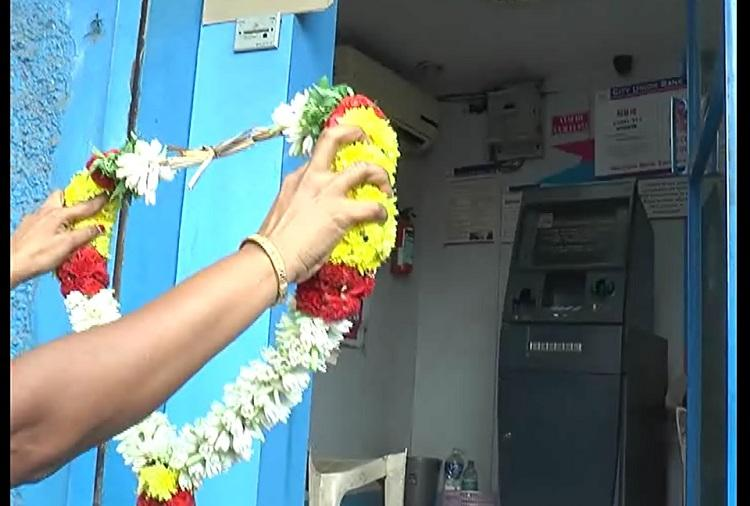 Death of an ATM Coimbatore womens group sings funeral songs for a cashless machine