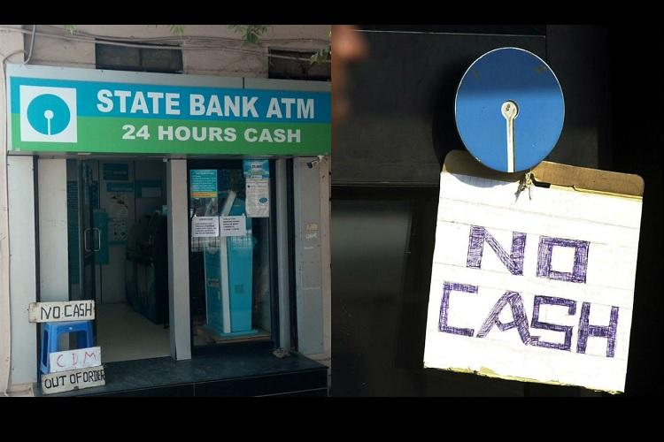 Did media lie about currency woes Bluru man checks 23 ATMs to find out