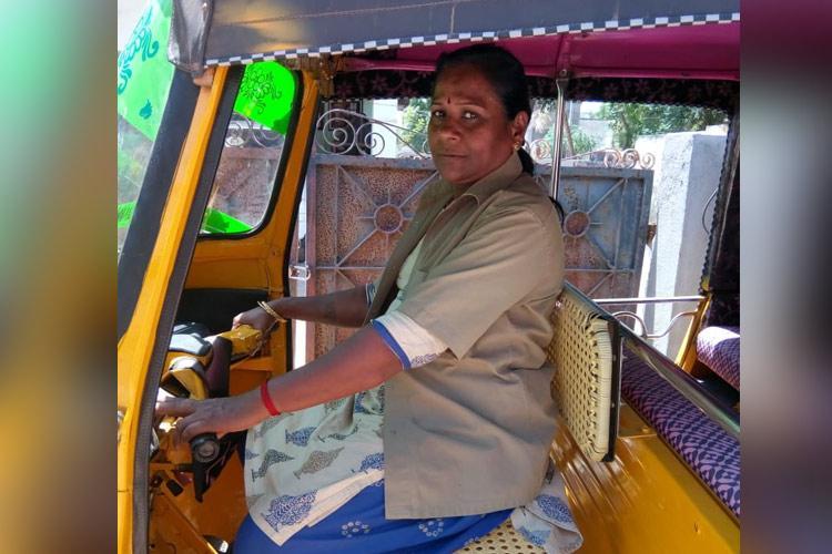 Meet Vijayalakshmi an auto driver and fierce champion for womens issues in Thanjavur