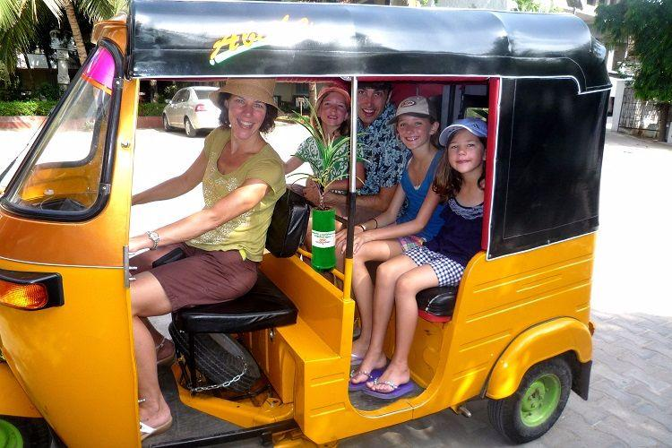 Greens on Wheels With potted plants in autos this Kerala man is winning hearts