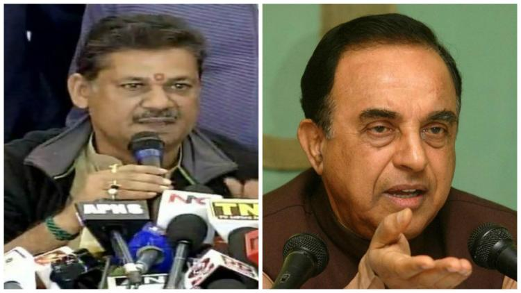 After suspension from party Kirti Azad finds support in Subramanian Swamy