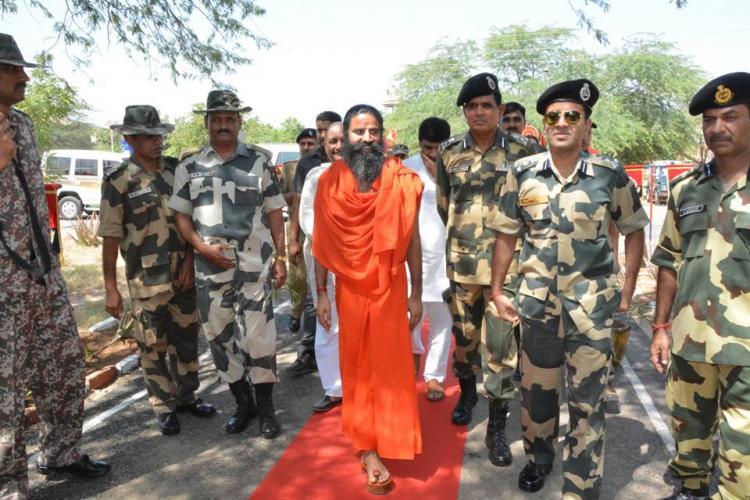 Amend law to make everyone say Bharat Mata Ki Jai says Ramdev