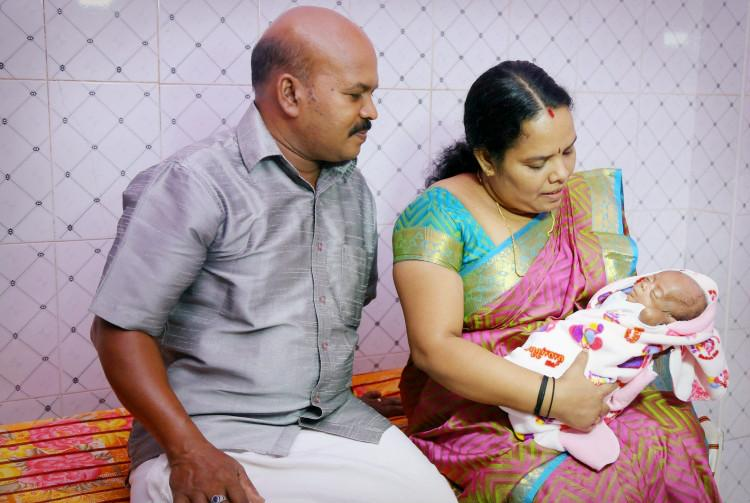Baby Malayali Images: Born Weighing Just 625gms, Kerala Baby's Miraculous