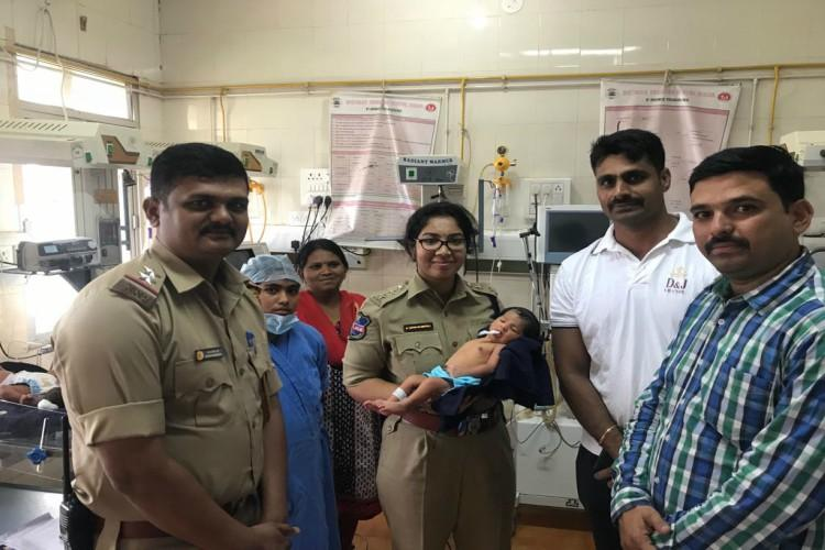 Baby rescued from kidnappers in Hyderabad to be named after cop who led probe