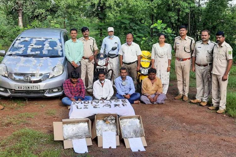 seized wildlife artefacts