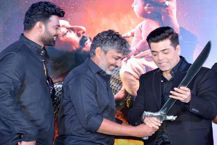 Prabhas to make Bollywood debut with Karan Johar and Rajamouli