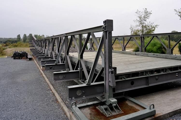 In a first for Kerala Army to construct portable Bailey bridge