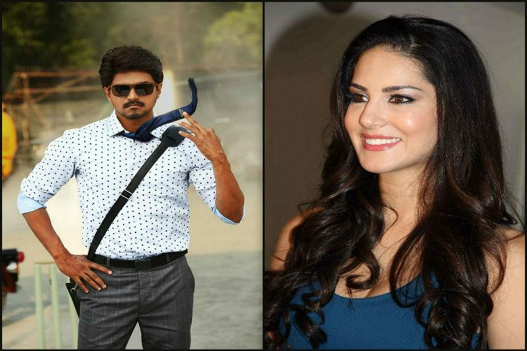 Does Sunny Leone really have a cameo along with Vijay in Bairavaa