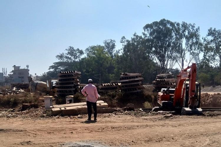 8 yrs on SW Railway claims Bengalurus Baiyappanahalli flyover near completion