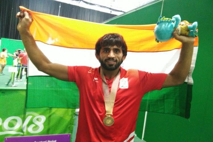 Asiad 2018 Bajrang Punia wins first gold Apurvi-Ravi take bronze on Day 1
