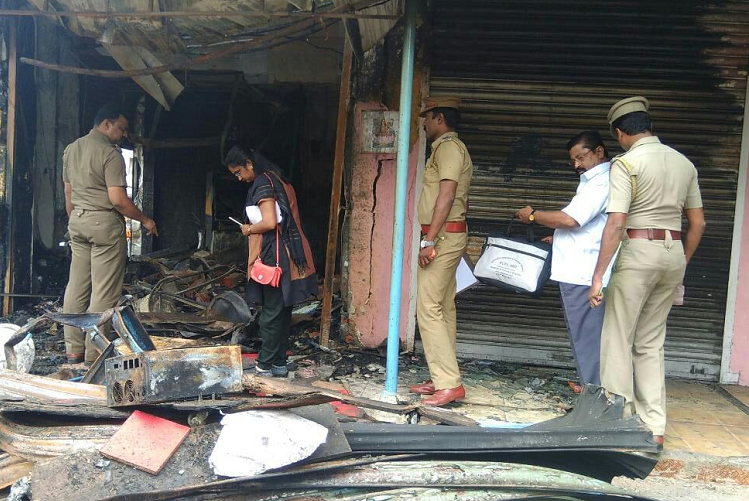 One fire officer killed and two critical after 17kg cylinder bursts in Chennai bakery