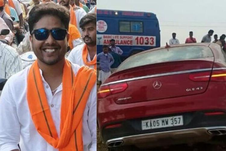 Karnataka minister R Ashokas son was allegedly in car that mowed down a man