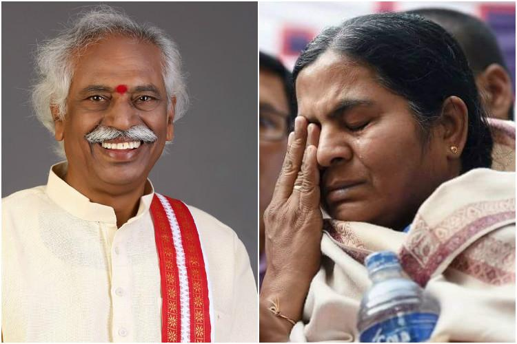 I know the pain Radhika Vemula offers condolences to Dattatreya over sons death