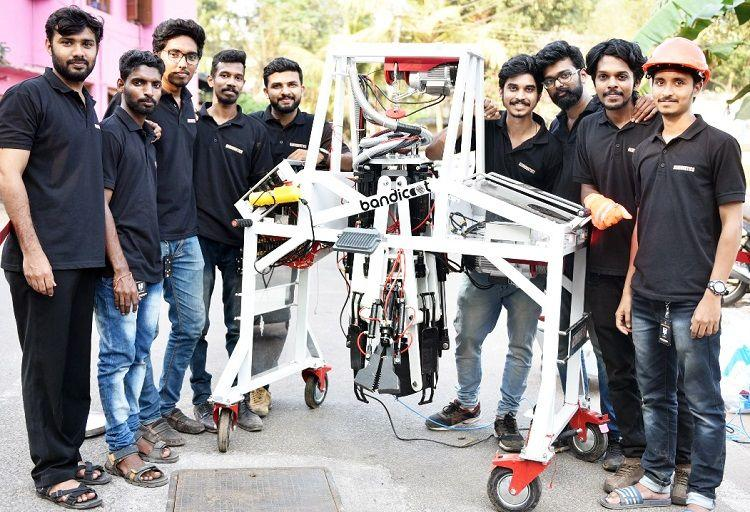 Bandicoot robot to put an end to manual scavenging launched in Kerala