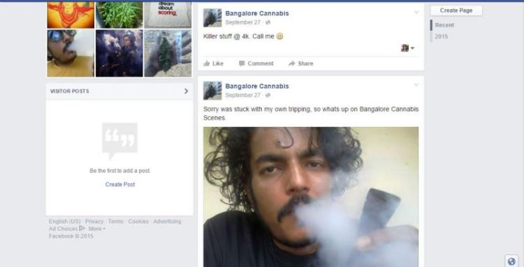 How this Bluru techie was selling weed and LSD on Facebook and got caught