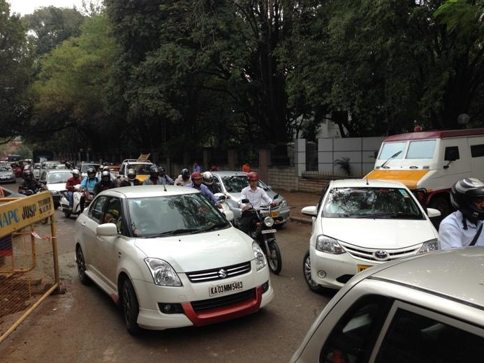 The quickest way out of Bengaluru traffic jams is humour parody Twitter handles say