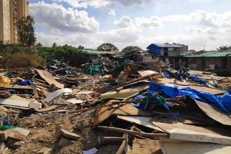 After unauthorised demolition drive in Bluru landowners divided over evicting migrants