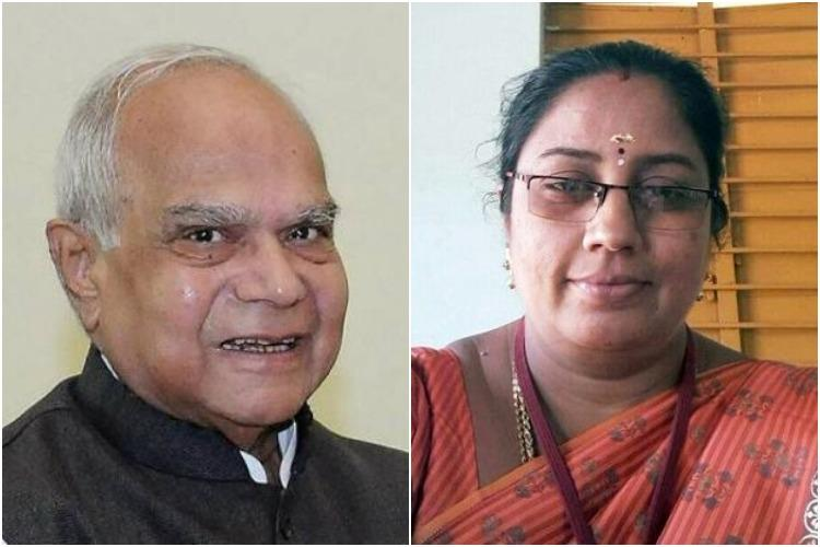 Never seen Nirmala Devis face TN Guv loses cool at press meet on sex-for-cash scandal