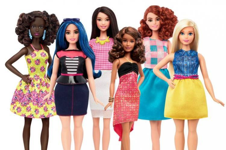 Barbie becomes a real girl To come in curvy petite and tall sizes