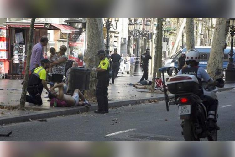 At least 13 killed 100 injured in Spain terror attack ISIS claims responsibility