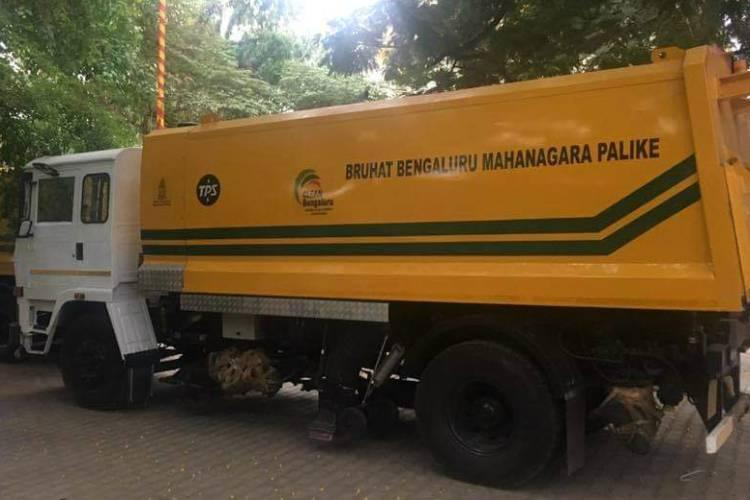 Bought for crores are Bengalurus mechanical sweepers lying idle Video accuses so