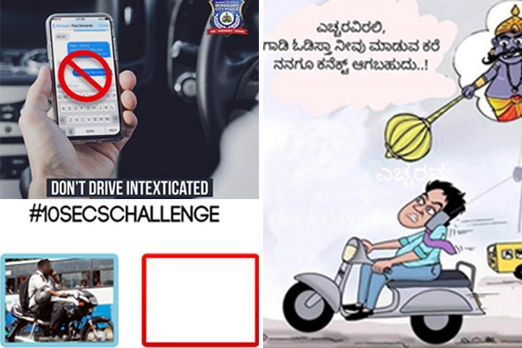 We see you rollin we chasin Bengaluru police take on drug peddlers using memes