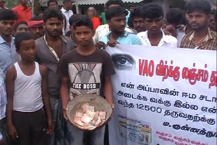 Heart-wrenching tale of a TN boy forced to beg to pay for a bribe